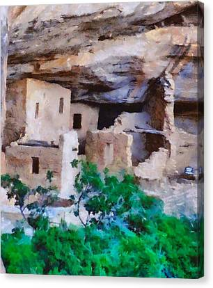 Mesa Verde Ruins Canvas Print by Dan Sproul