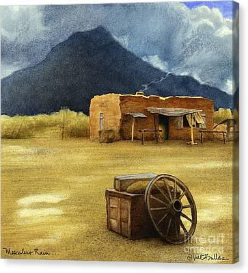 Mescalero Rain... Canvas Print by Will Bullas