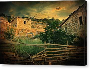 Beautiful Scenery Canvas Print - Mesmer by Taylan Apukovska