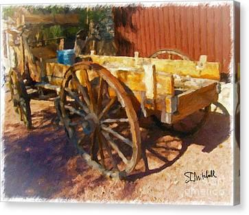 Mesquite Wagon Canvas Print