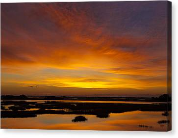 Message From The Universe  Sunrise Photograph By Jo Ann Tomaselli Canvas Print