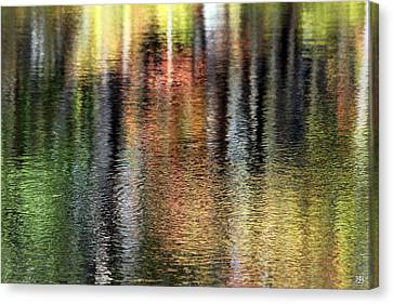 Messalonskee Reflection 2 Canvas Print