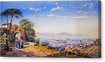 Messina Canvas Print by Celestial Images