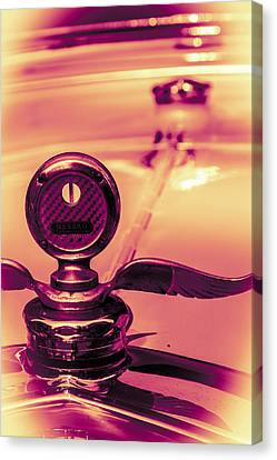 Canvas Print featuring the digital art Messko Thermometer by Bartz Johnson