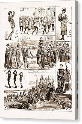 Sullivan Canvas Print - Messrs. Gilbert And Sullivans New Comic Opera Patience by Litz Collection