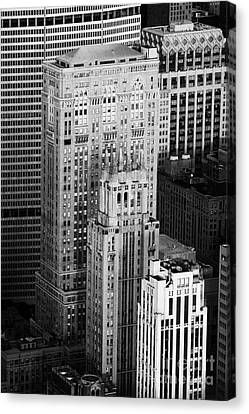 Met Life Building Lincoln Building Lefcourt Colonial Building And Johns Manville Building New York Canvas Print by Joe Fox