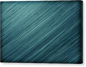 Metal Background Or Texture Of Brushed Steel Plate  Canvas Print by Wanlop Sonngam
