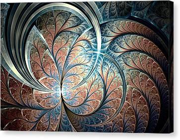 Metal Forest Canvas Print by Anastasiya Malakhova