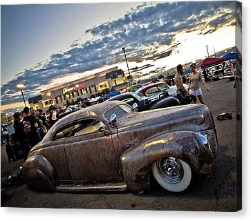 Metal Merc Canvas Print by Merrick Imagery