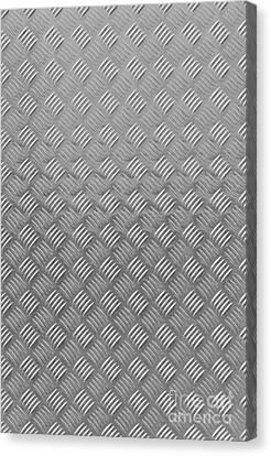 Metal Textured Background Canvas Print by Antony McAulay