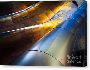 Metal Waves Canvas Print