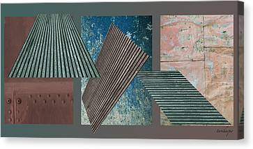 Canvas Print featuring the photograph Metalisation by Terri Harper