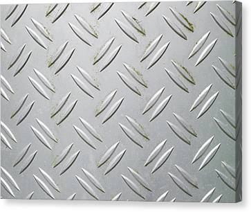 Metallic Surface Canvas Print by Hans Engbers