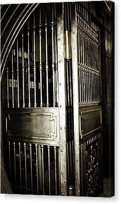 Metals Bank Vault Canvas Print by Image Takers Photography LLC - Laura Morgan