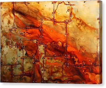 Metalwood Canvas Print