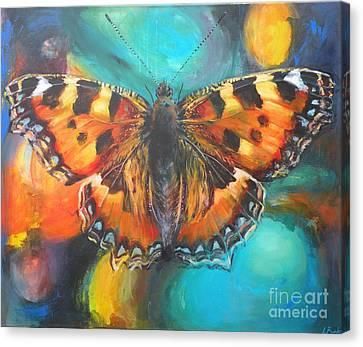 Metamorphose Canvas Print by Leigh Banks