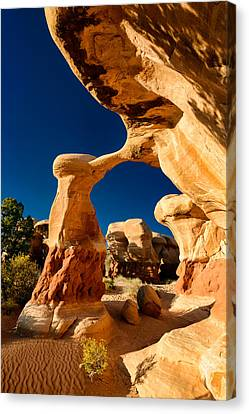 Metate Arch Canvas Print by Michael Blanchette