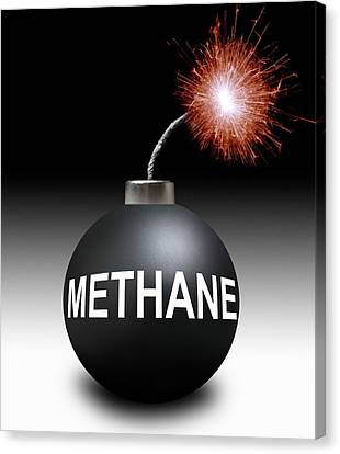 Methane Bomb Canvas Print