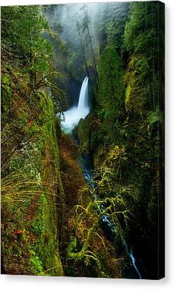 Metlako Falls Canvas Print by Darren  White