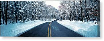 Metro Park Road Oh Usa Canvas Print