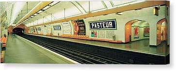 Metro Station, Paris, France Canvas Print