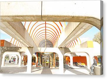 Metro Terminal Canvas Print by Eric Soucy