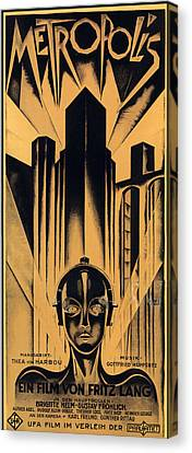 Metropolis Poster Canvas Print by Gianfranco Weiss