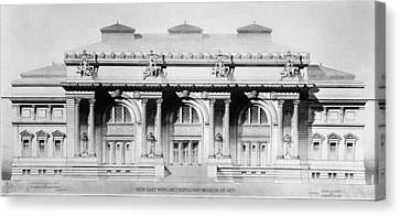 Metropolitan Museum, 1893 Canvas Print by Granger