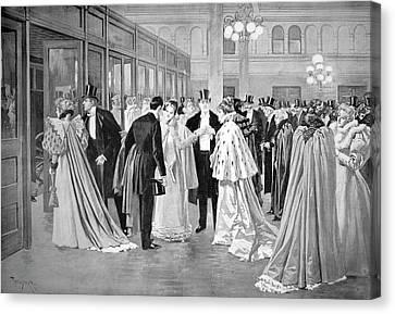 Metropolitan Opera, 1894 Canvas Print by Granger