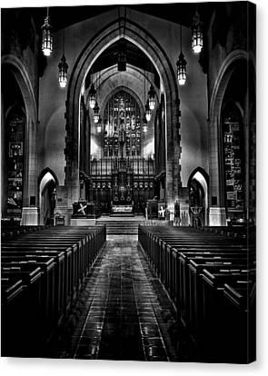 Metropolitan United Church 1 Toronto Canada Canvas Print by Brian Carson