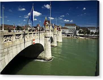 Mettler Brucke Canvas Print by Rajiv Chopra