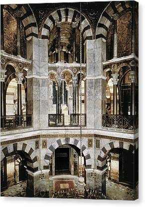 Palatina Canvas Print - Metz, Eudes De8th C.. Palatine Chapel by Everett