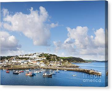 Mevagissey Cornwall England Canvas Print by Colin and Linda McKie