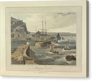 Mevagissy Canvas Print by British Library