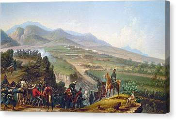 Mexican Army, 1846-1848 Canvas Print by Granger