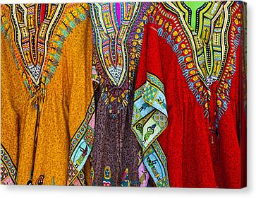 Canvas Print featuring the photograph Mexican Colors by John  Bartosik