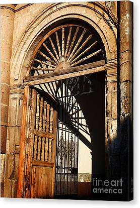 Mexican Door 27 Canvas Print