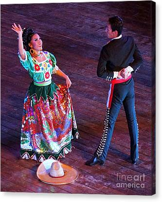 Mexican Folk Dance 12 Canvas Print