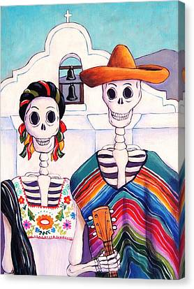 Mexican Gothic Canvas Print by Candy Mayer
