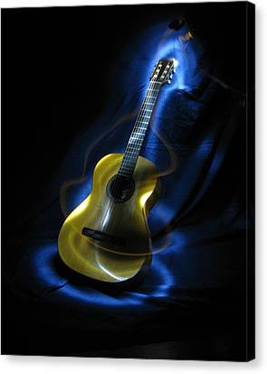 Mexican Guitar Canvas Print