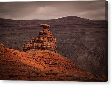 Mexican Hat Canvas Print by Jennifer Grover