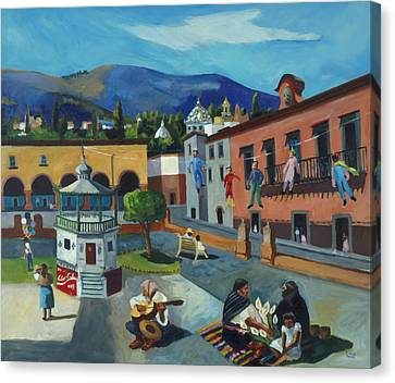 Mexican Memories Of San Miguel Canvas Print