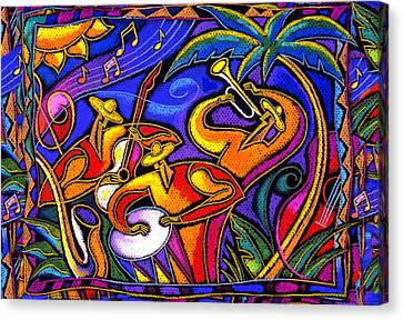 Latin Music Canvas Print