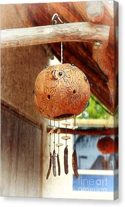 Mexican Wind Chime Lamp Canvas Print by Charline Xia