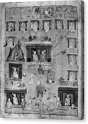 Genealogy Canvas Print - Mexico Genealogy by Granger