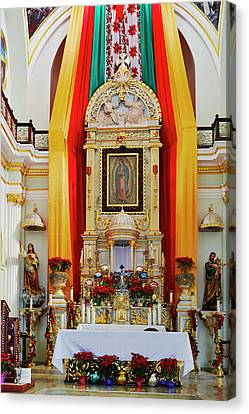 Our Lady Of Guadalupe Canvas Print - Mexico, Jalisco, Puerto Vallarta by Jaynes Gallery