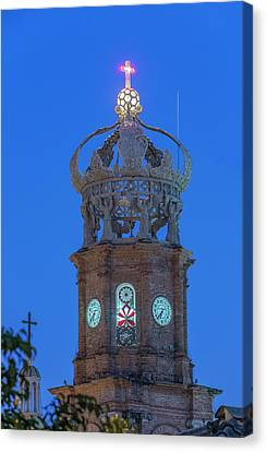 Our Lady Of Guadalupe Canvas Print - Mexico, Jalisco, Puerto Vallarta by Rob Tilley