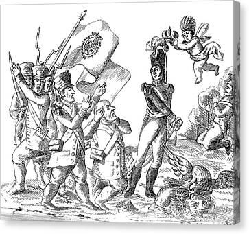 Mexico Pedraza, 1828 Canvas Print by Granger