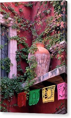 Mexico, San Miguel De Allende, Ivy Canvas Print by Jaynes Gallery