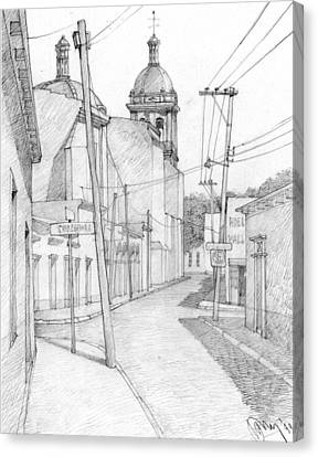 Mexico. Small Town Canvas Print by Serge Yudin